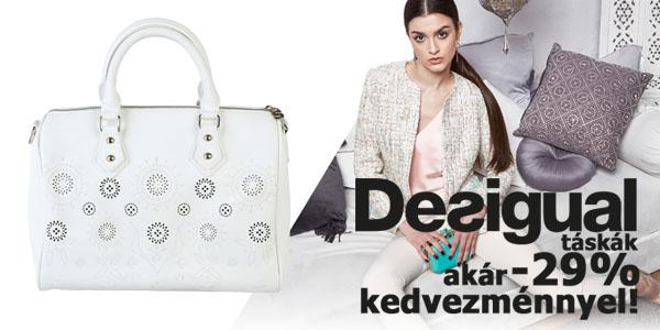 Desigual női táskák akár-29% kedvezménnyel!