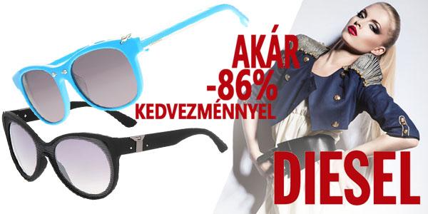 Diesel napszemüvegek akár -86% kedvezménnyel