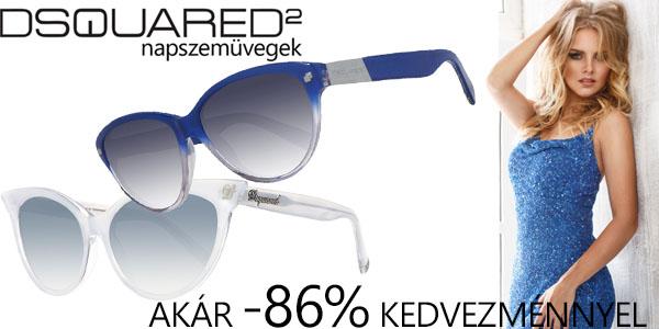 Dsquared2 napszemüvegek akár -86% kedvezménnyel
