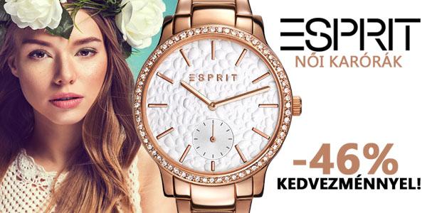 Esprit női karórák -46% kedvezménnyel!
