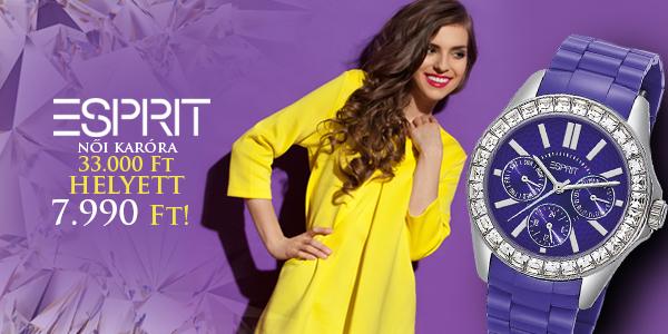 Esprit női karóra 33 000 Ft helyett 7 990 Ft-ért!