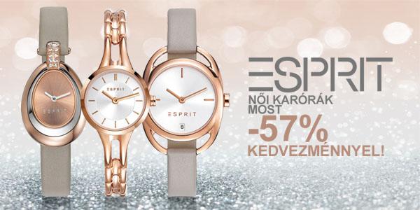 Esprit karórák -57% kedvezménnyel!