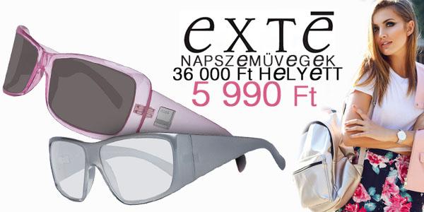 Exte napszemüvegek -83% kedvezménnyel!
