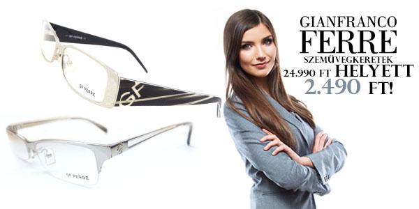 GF Ferré szemüvegkeretek 2 490 Ft-ért!