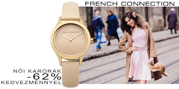 French Connection FCUK női karórák akár -66% kedvezménnyel!