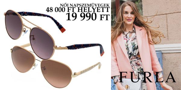 Furla női napszemüvegek -58% kedvezménnyel!
