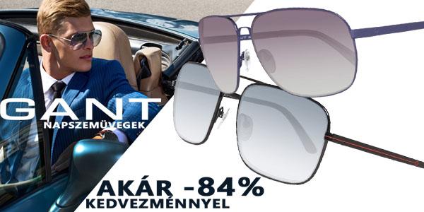 Gant napszemüvegek akár -84% kedvezménnyel!