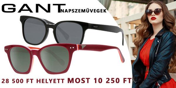 Gant napszemüvegek -64% kedvezménnyel!