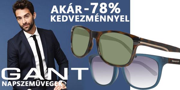 Gant napszemüvegek aká -78% kedvezménnyel!