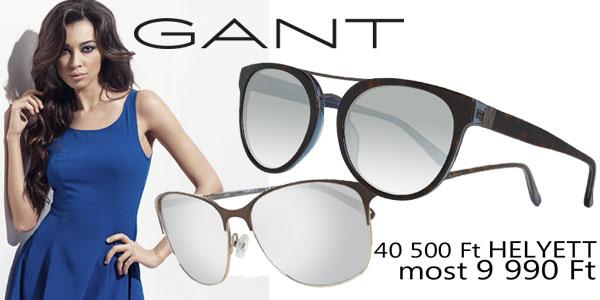 Gant napszemüvegek -75% kedvezménnyel!