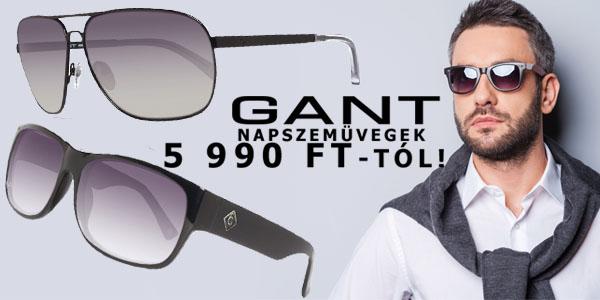 Gant napszemüvegek 5 990 Ft-tól!