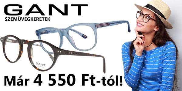 Gant szemüvegkeretek 4 550 Ft-tól!