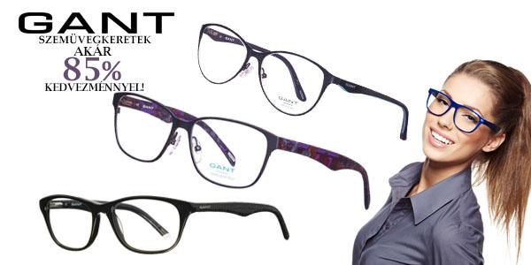 Gant szemüvegkeretek akár 85% kedvezménnyel!