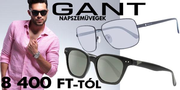Gant férfi napszemüvegek 8 400 Ft-tól!