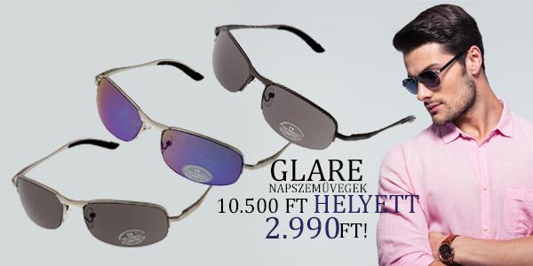 Glare napszemüvegek 2 990 Ft-ért!