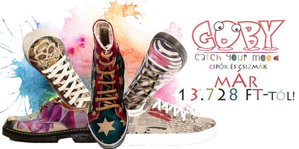 Goby cipők már 13 728 Ft-tól!