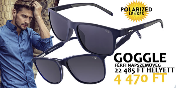 Goggle napszemüvegek 4 470 Ft-ért!