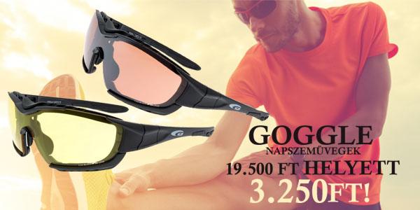 Goggle napszemüvegek 3 250 Ft-ért!