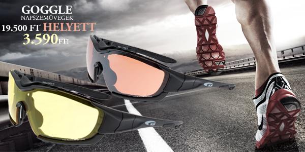 Goggle Sports napszemüvegek 3 590 Ft-tól!