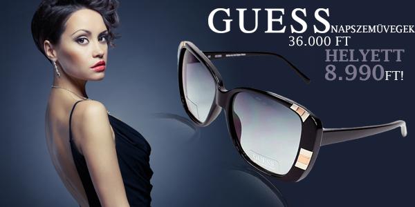 Guess női napszemüvegek 36 000 Ft helyett 8 990 Ft-ért!