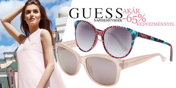 Guess napszemüvegek akár -65% kedvezménnyel!