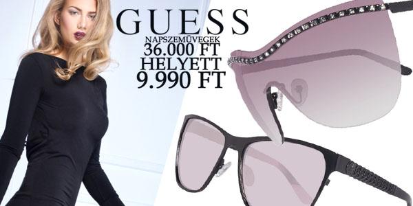 Guess napszemüvegek 9 990 Ft-ért!
