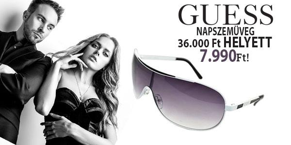 Guess napszemüvegek 7 990 Ft-ért!
