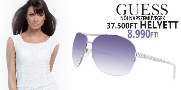 Guess női napszemüvegek 8 990 Ft-ért