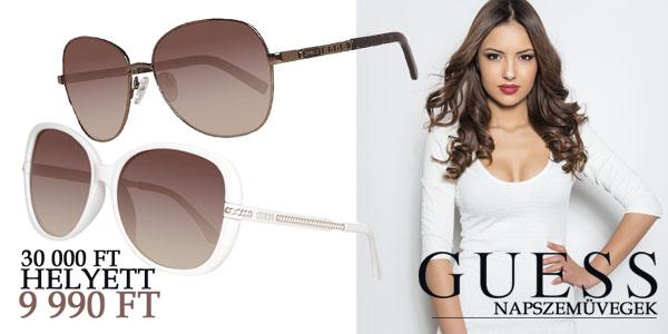 Guess napszemüvegek -67% kedvezménnyel