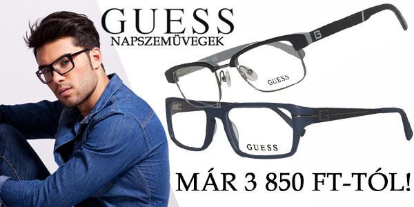 Guess szemüvegkeretek 3 850 Ft-tól!