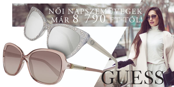 Guess napszemüvegek már 8 790 Ft-tól!