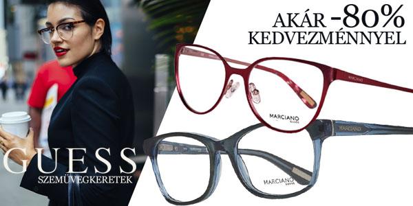 Guess szemüvegkeretek akár -80% kedvezménnyel!