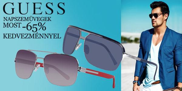 Guess napszemüvegek -65% kedvezménnyel