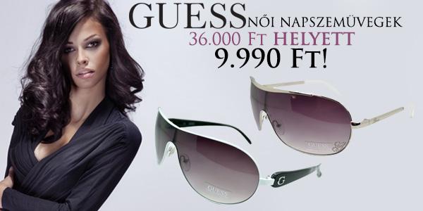 Guess női napszemüvegek 9 990 Ft-tól!
