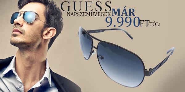 Guess férfi napszemüvegek 9 990 Ft-tól!