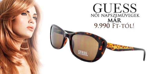 Guess napszemüvegek már 9 990 Ft-tól!