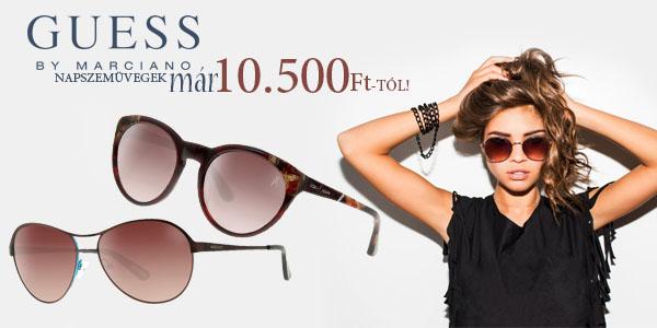 Guess by Marciano napszemüvegek már 10 500 Ft-tól!