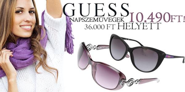 Guess női napszemüvegek -71% kedvezménnyel!