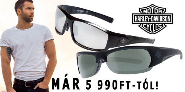 Harley Davidson napszemüvegek már 5 990 Ft-tól!