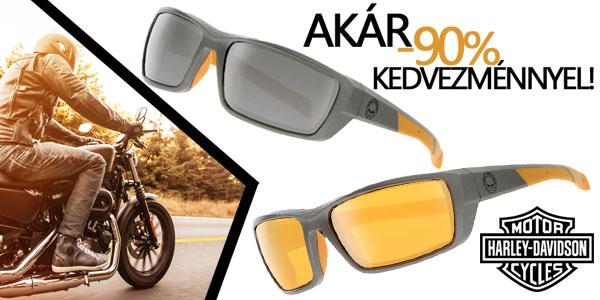 Harley Davidson napszemüvegek akár -90% kedvezménnyel!