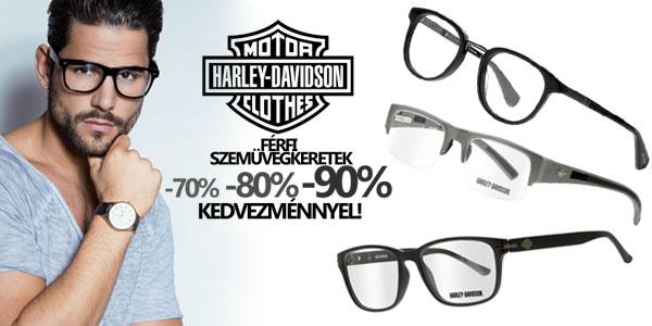 Harley Davidson szemüvegkeretek -70-90% kedvezménnyel