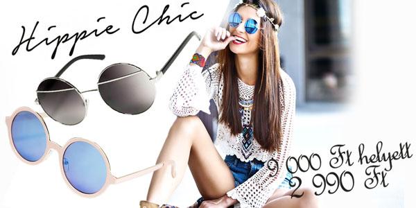 Hippie Chic napszemüvegek 2 990 Ft-ért!