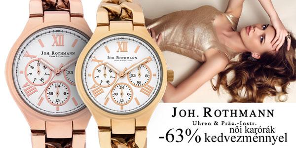 Johan Rothmann karórák -63% kedvezménnyel