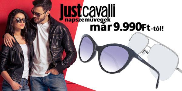 Just Cavalli napszemüvegek már 9 990 Ft-ért!