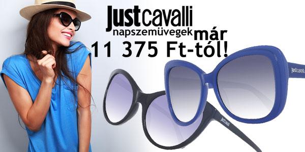 Just Cavalli napszemüvegek már 11 375 Ft-ért!