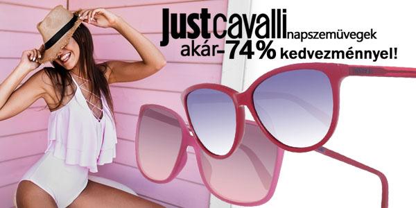 Just Cavalli napszemüvegek akár -74% kedvezménnyel!