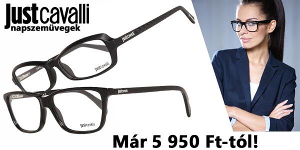 Just Cavalli szemüvegkeretek 5 950 Ft-tól!