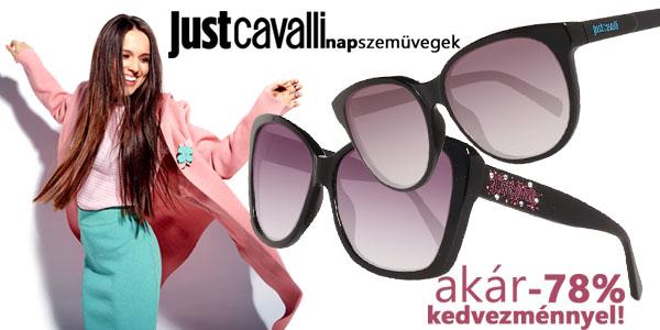 Just Cavalli napszemüvegek akár -78% kedvezménnyel