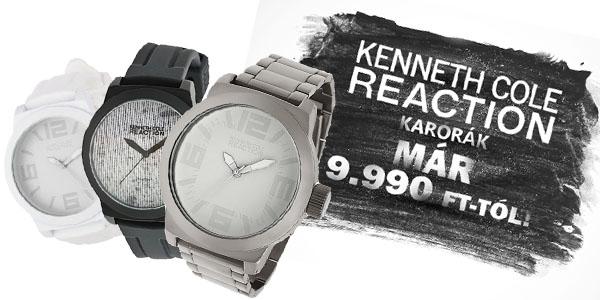 Kenneth Cole Reaction karórák már 9 990 Ft-tól!