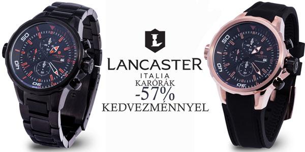 Lancaster karórák -57% kedvezménnyel!